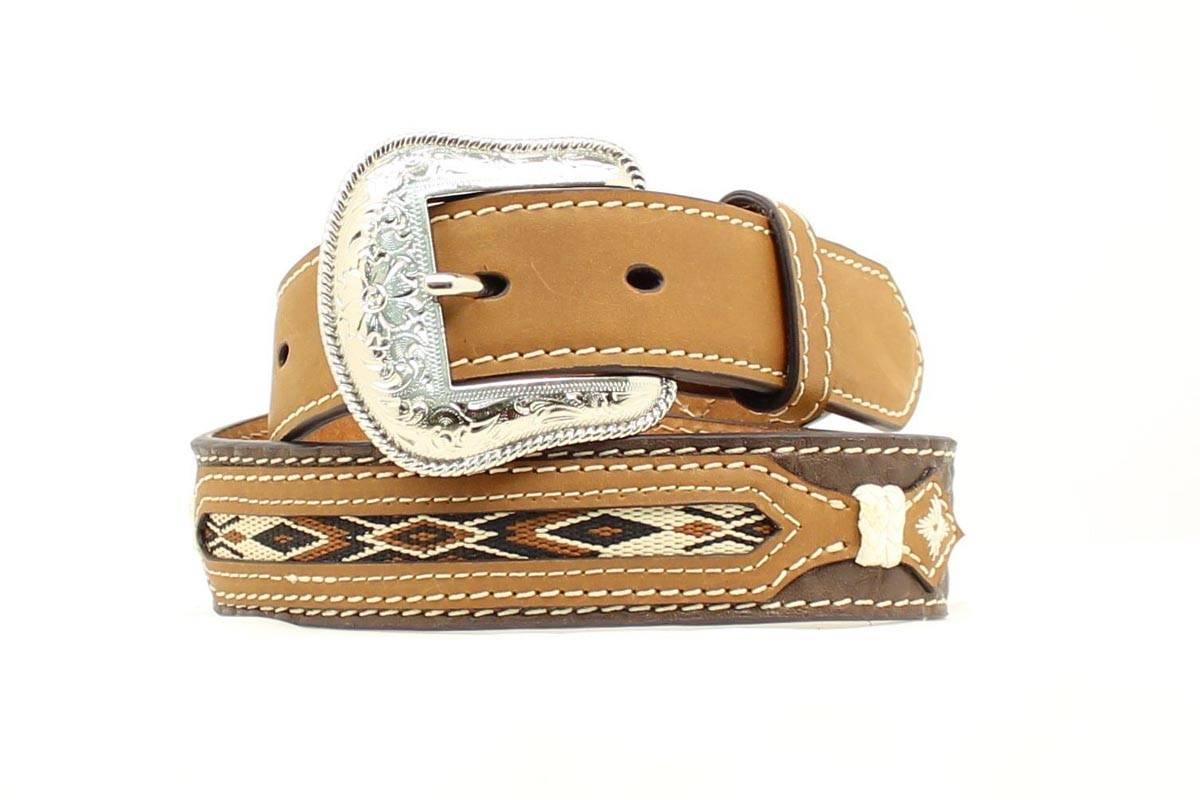 Nocona Boys Overlay Ribbon Belt
