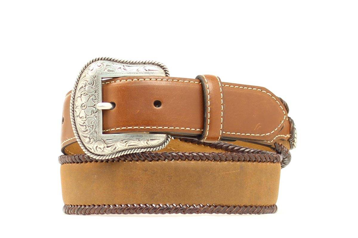 Nocona Boys Laced Edge Belt