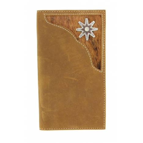 Nocona Rodeo Hair Corner with Rowel Concho Wallet