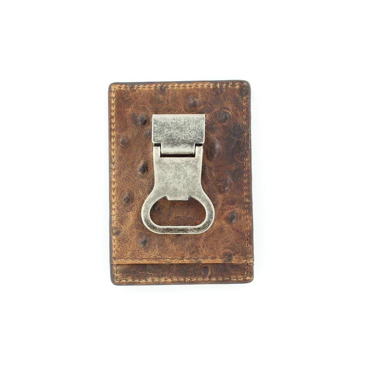 Nocona Bi-fold Metal/Money Clip Wallet