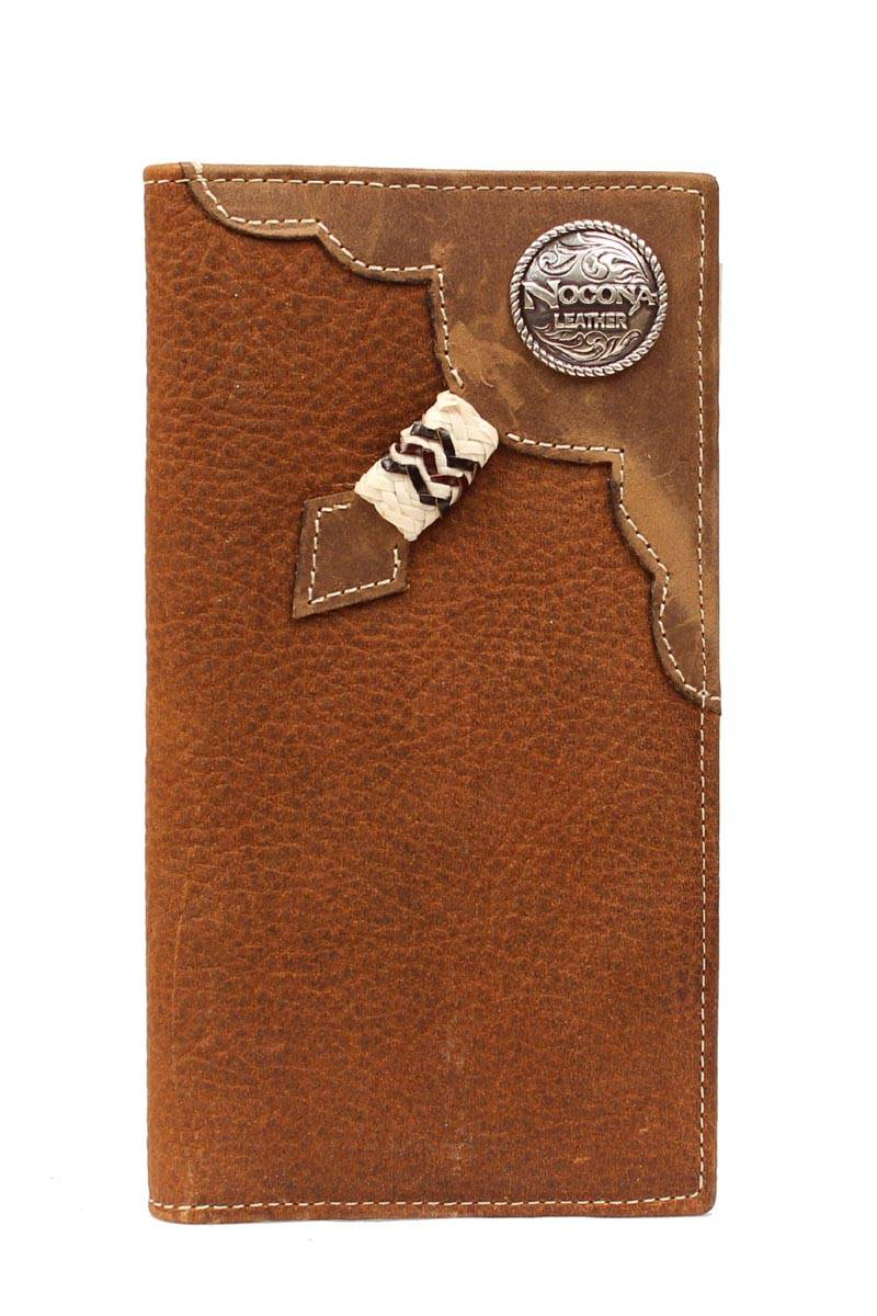 Nocona Rodeo Knotted Rawhide Wallet
