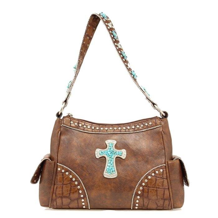 Blazin Roxx Cross Gator Shoulder Bag