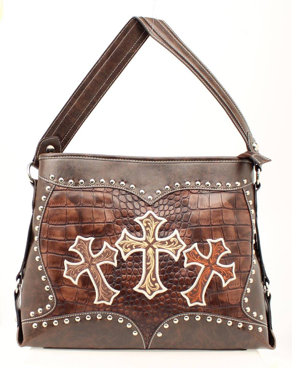 Blazin Roxx Three Cross Shoulder Bag