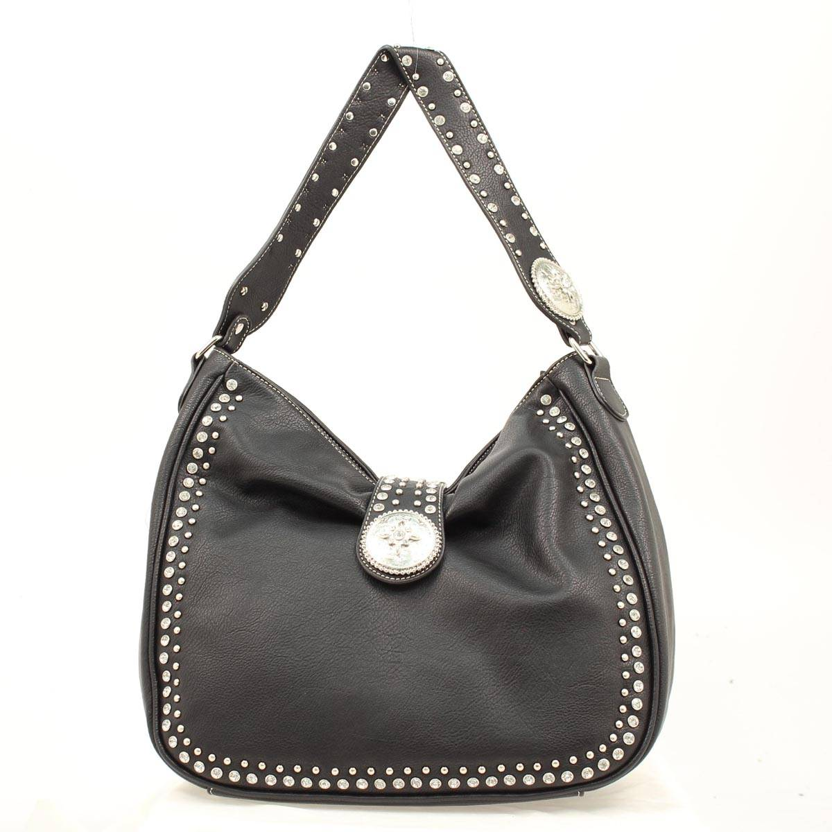 Blazin Roxx Bucket Biker Crystal Bag