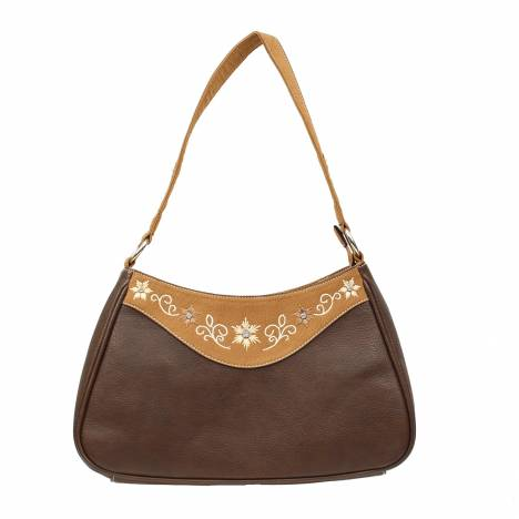 Blazin Roxx Embroidered Floral Shoulder Bag