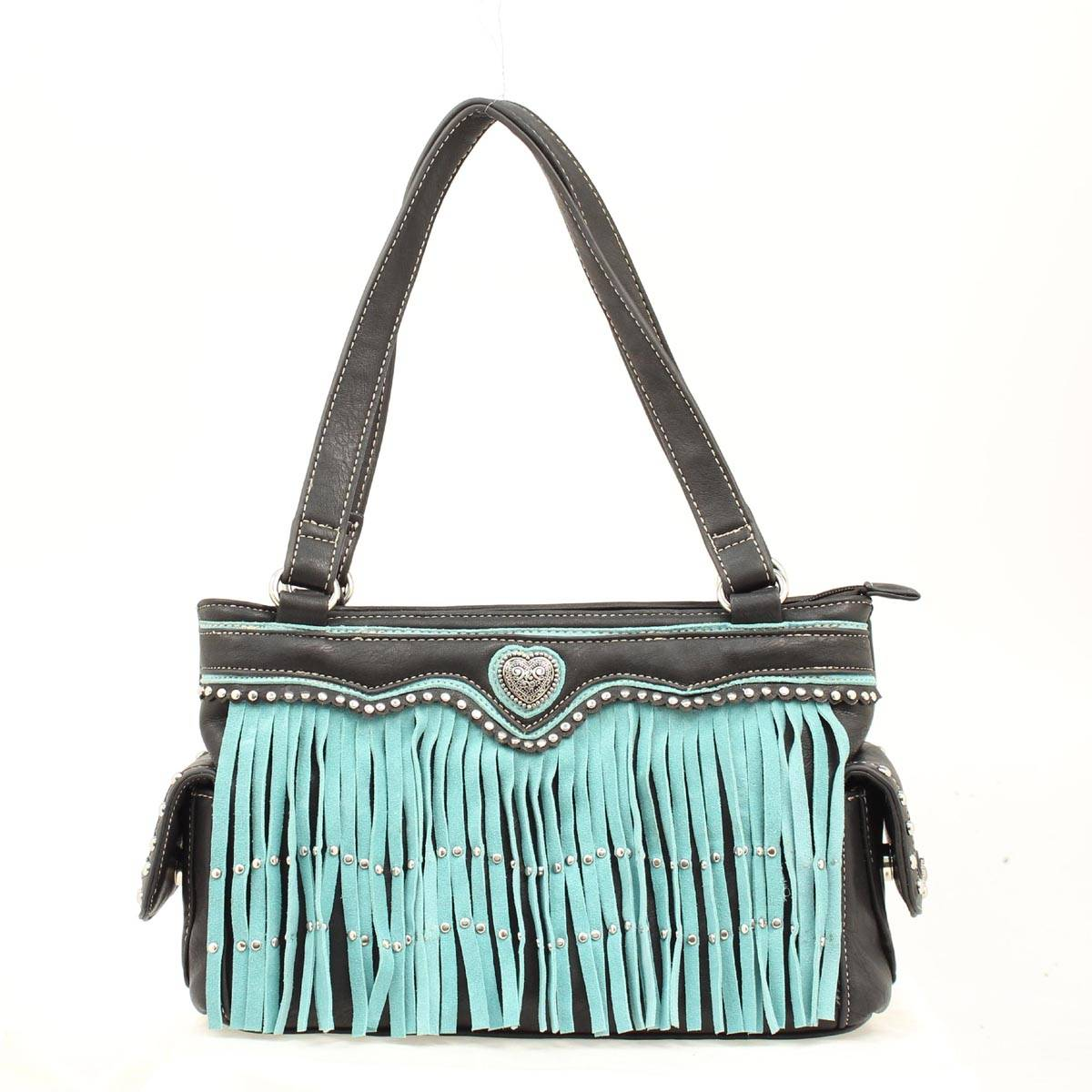 Blazin Roxx Women's Fringe Satchel
