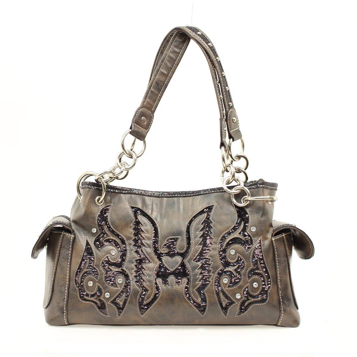 Blazin Roxx Thunderbird Sequin Satchel