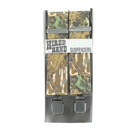 Nocona Mens Nylon Camo Galluse