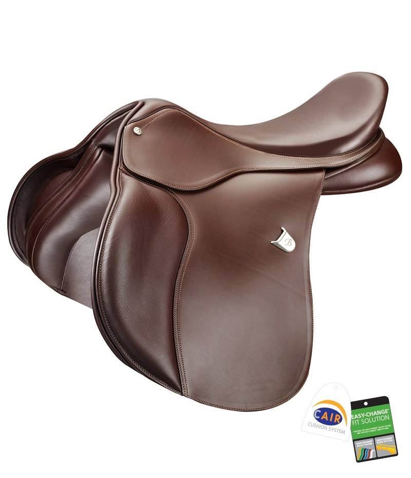 Bates All Purpose Square Cantle Saddle with CAIR