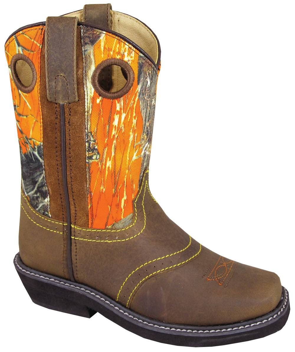 Smoky Mountain Kids CYPRESS Square Toe Boot