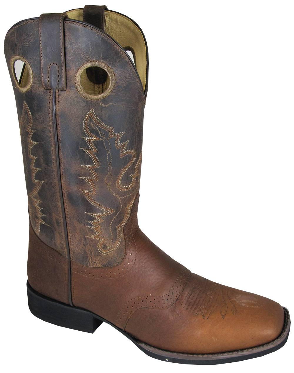 Smoky Mountain Mens LUKE Square Toe Boot