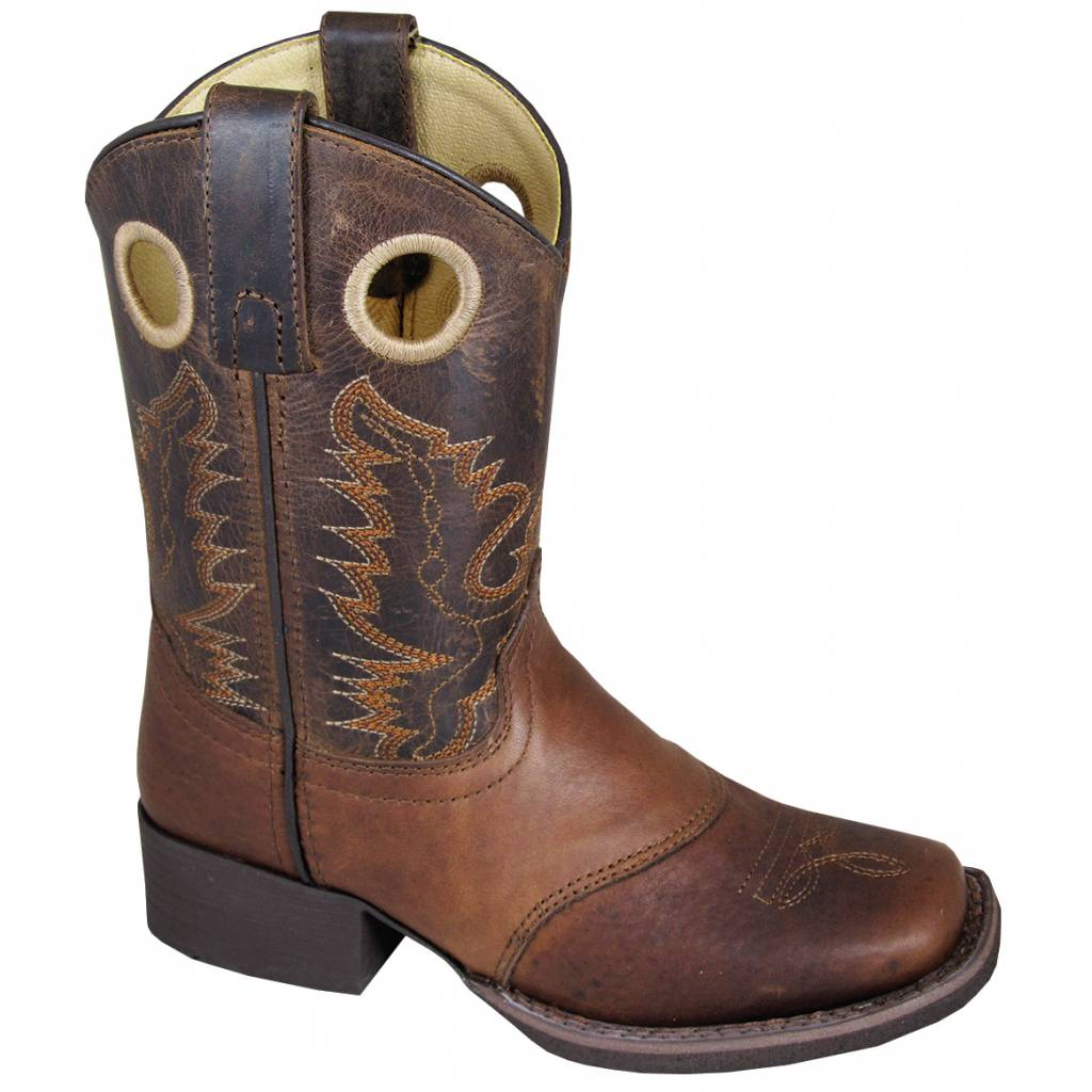 Smoky Mountain Kids LUKE Square Toe Boot