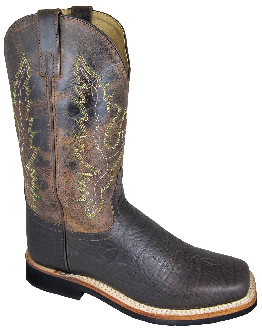 Smoky Mountain Mens ROGER Square Toe Boot