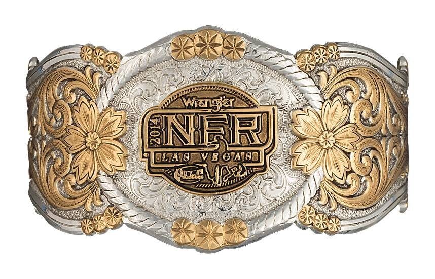 Montana Silversmiths 2014 WNFR Heirloom Gold Corsage Bracelet
