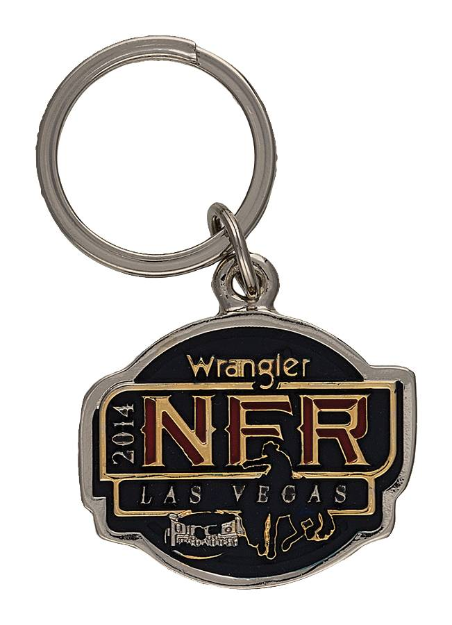 Montana Silversmiths 2014 WNFR Key Ring