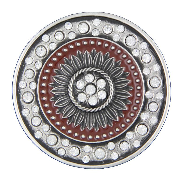 Montana Silversmiths Desert Sunflower Attitude Belt Buckle