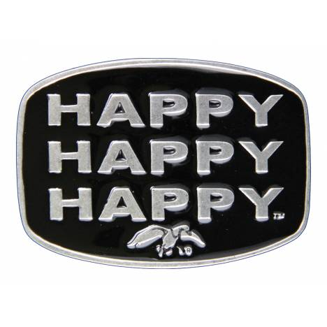 Montana Silversmiths Duck Commander Happy Happy Happy Attitude Buckle