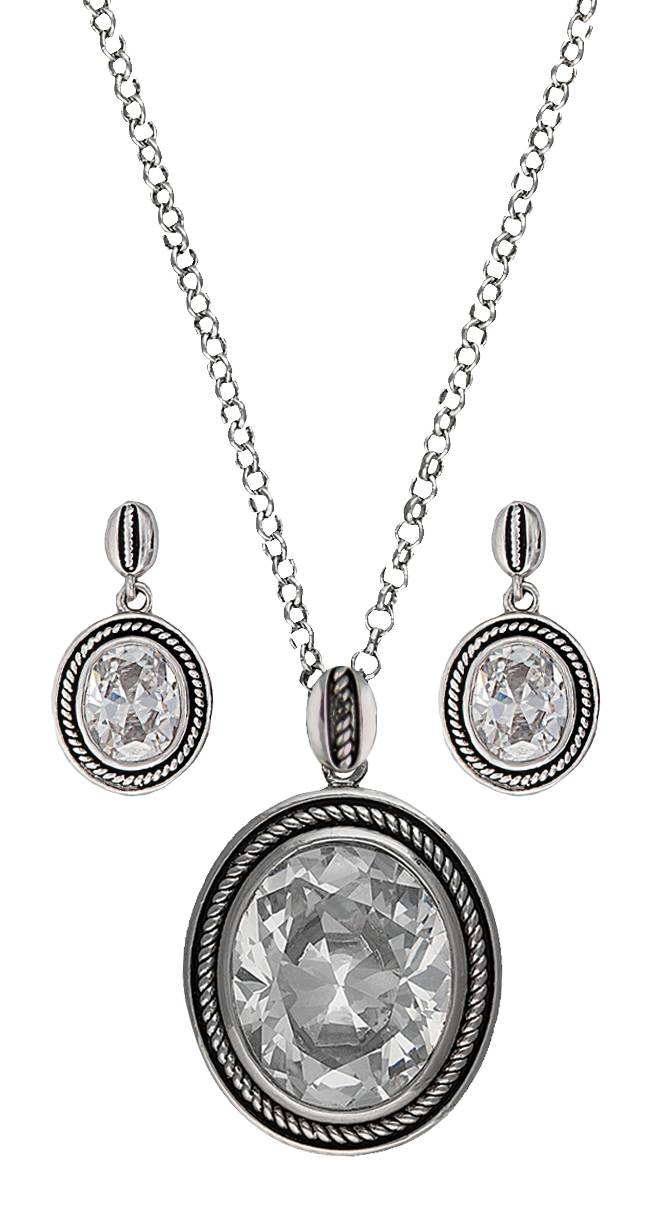 Montana Silversmiths Forever Cowgirl Jewelry Set