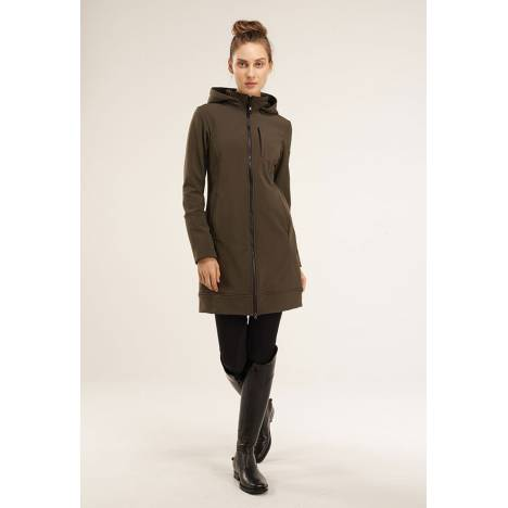 Asmar Ladies All Weather Rider Coat - Olive