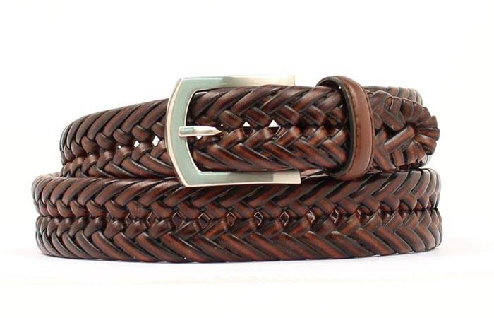 nocona hired braided mens belt ebay