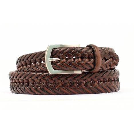 Nocona Hired Hand Braided Mens Belt