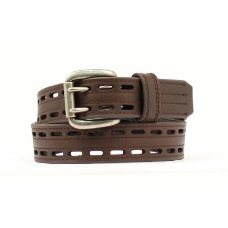 Nocona HDX Double Hole Belt/Buckle