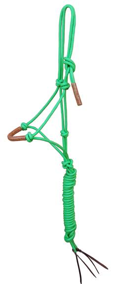 Turn-Two Equine Leather Braid Nose Rope Halter