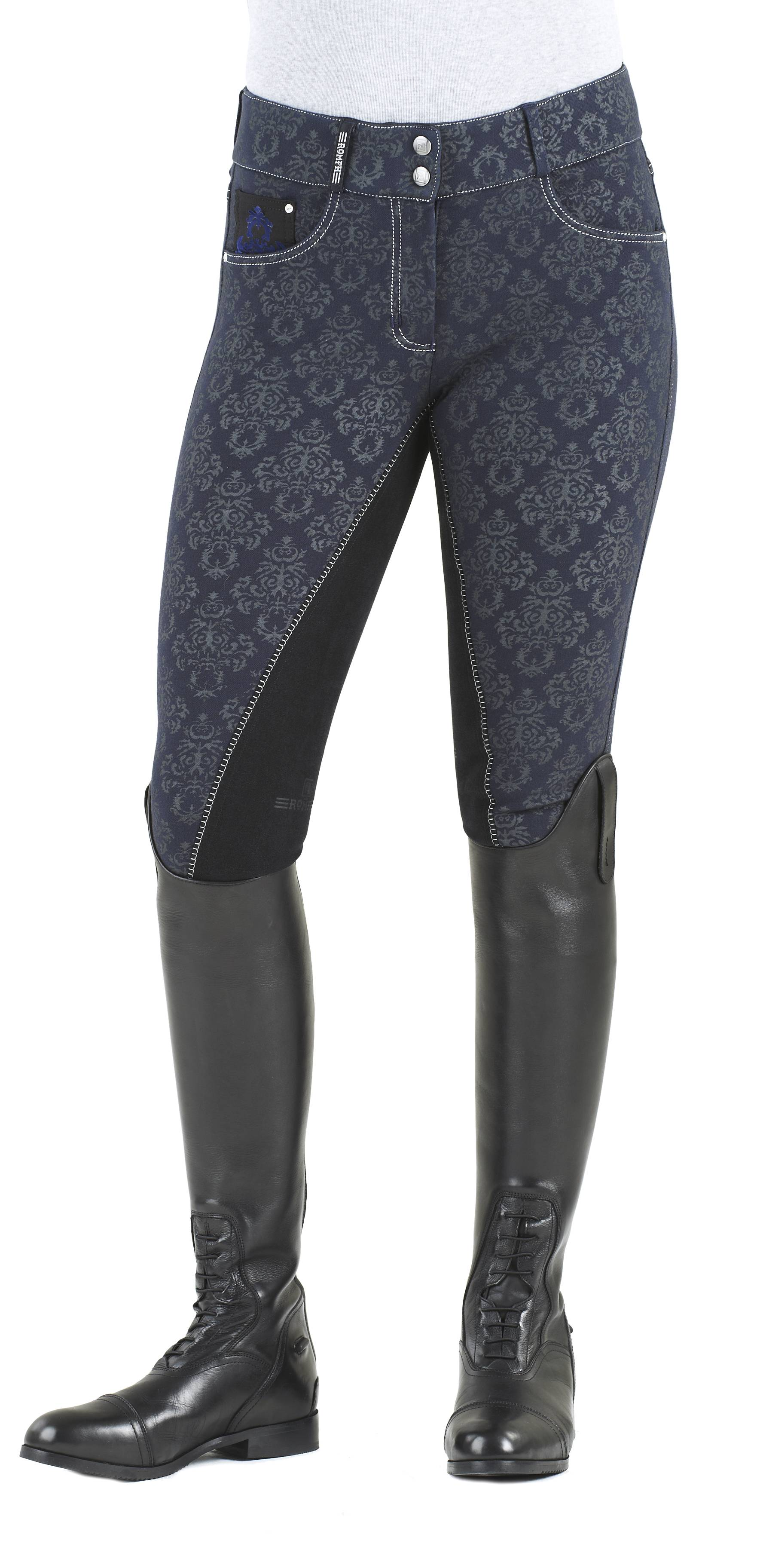 Romfh Baroque Print Full Seat Breech