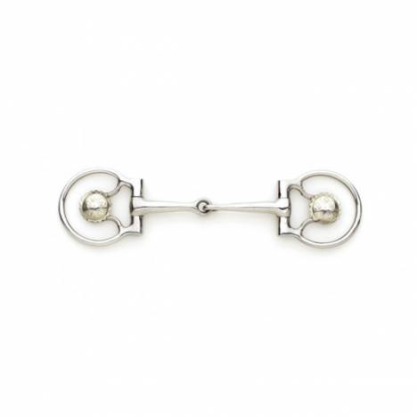 Turn-Two Equine Concho Snaffle D-Ring Bit