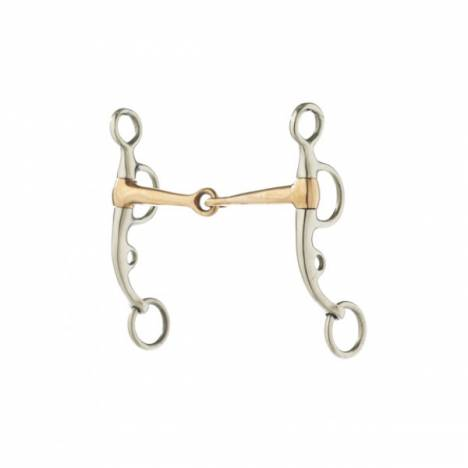 Turn-Two Equine Copper Snaffle Argentine Bit
