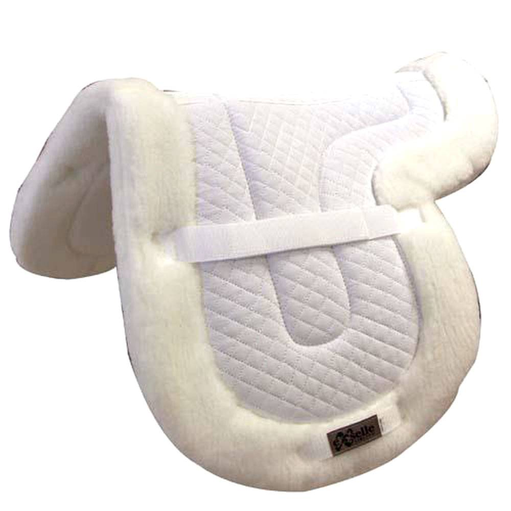 Intrepid Shaped Close Contact Pad Fleece Bottom