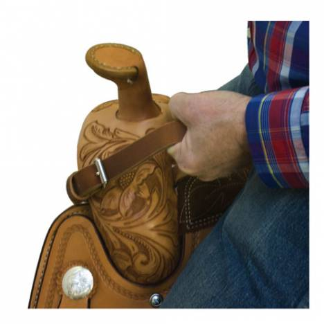 Billy Cook Saddlery Harness Leather Bucking Strap