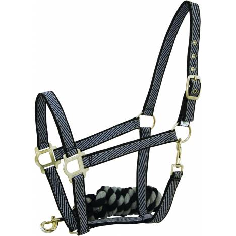 Abetta Striped Halter & Lead Package