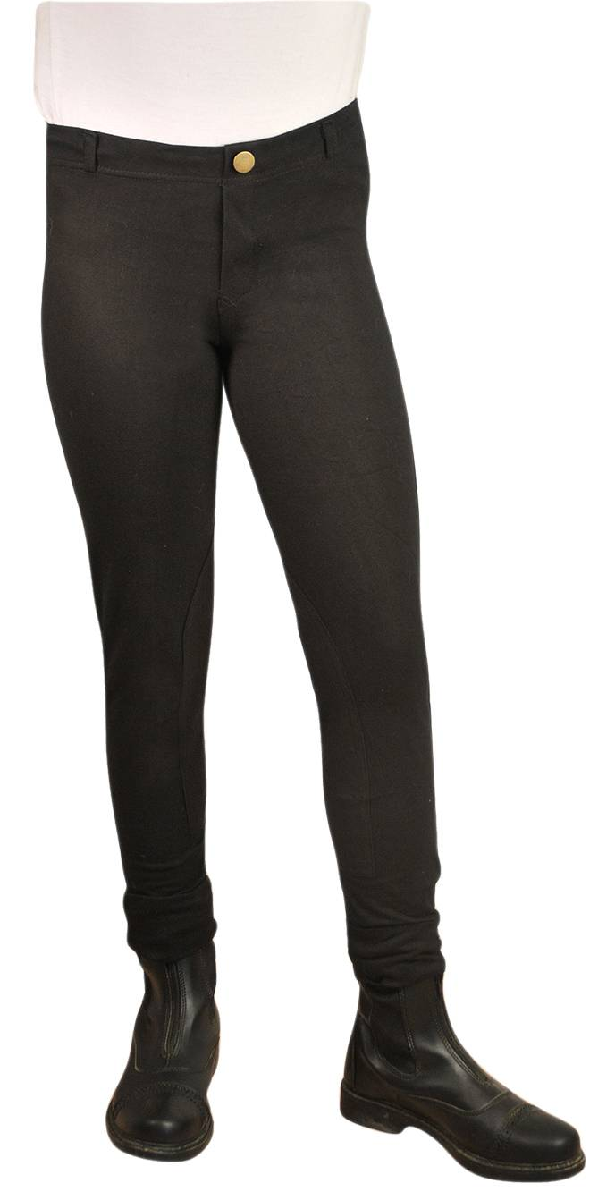 Ashley Kids Lightweight Pull On Breeches with Clarino