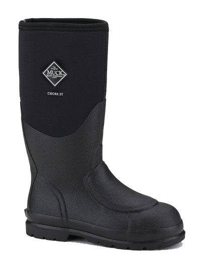 Muck Boots Unisex Chore Steel Toe Meta Guard Boot