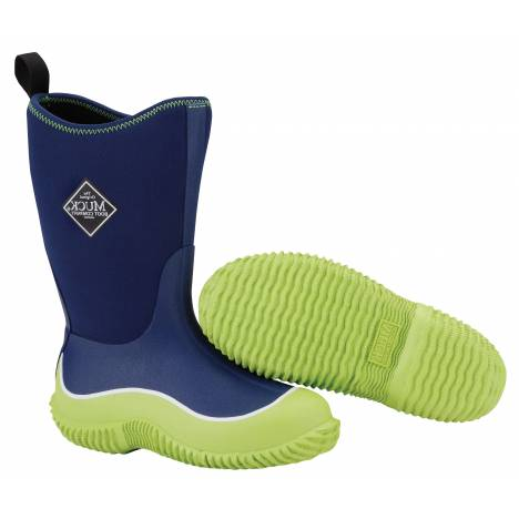 Muck Boots Youth Hale - Green Blue