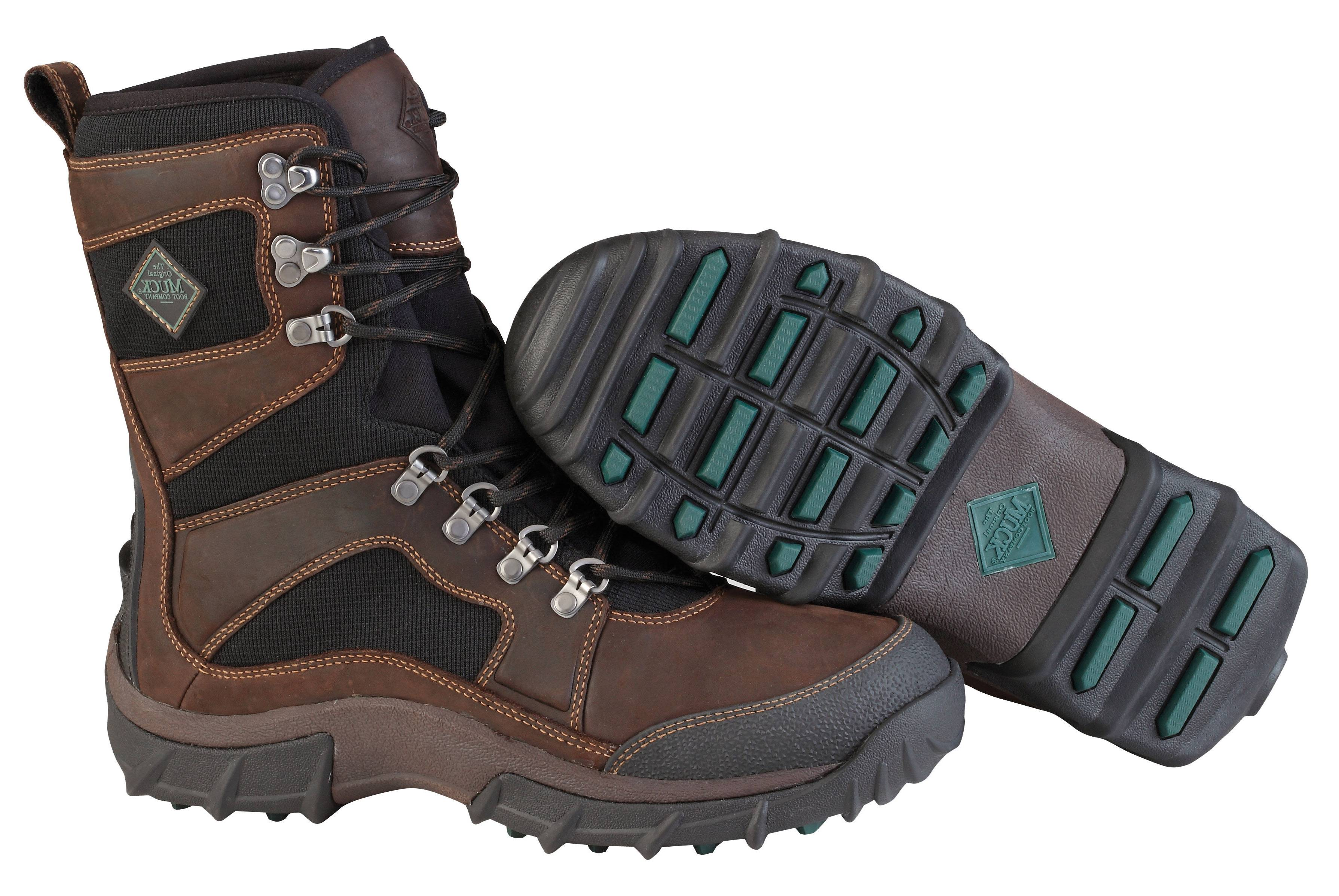 Muck Boots Mens Peak Essential Boots - Brown Black