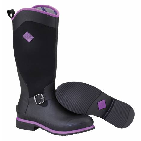 Muck Boots Ladies Reign - Black Purple