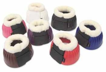 Shires Fleece Trim Bell Boots