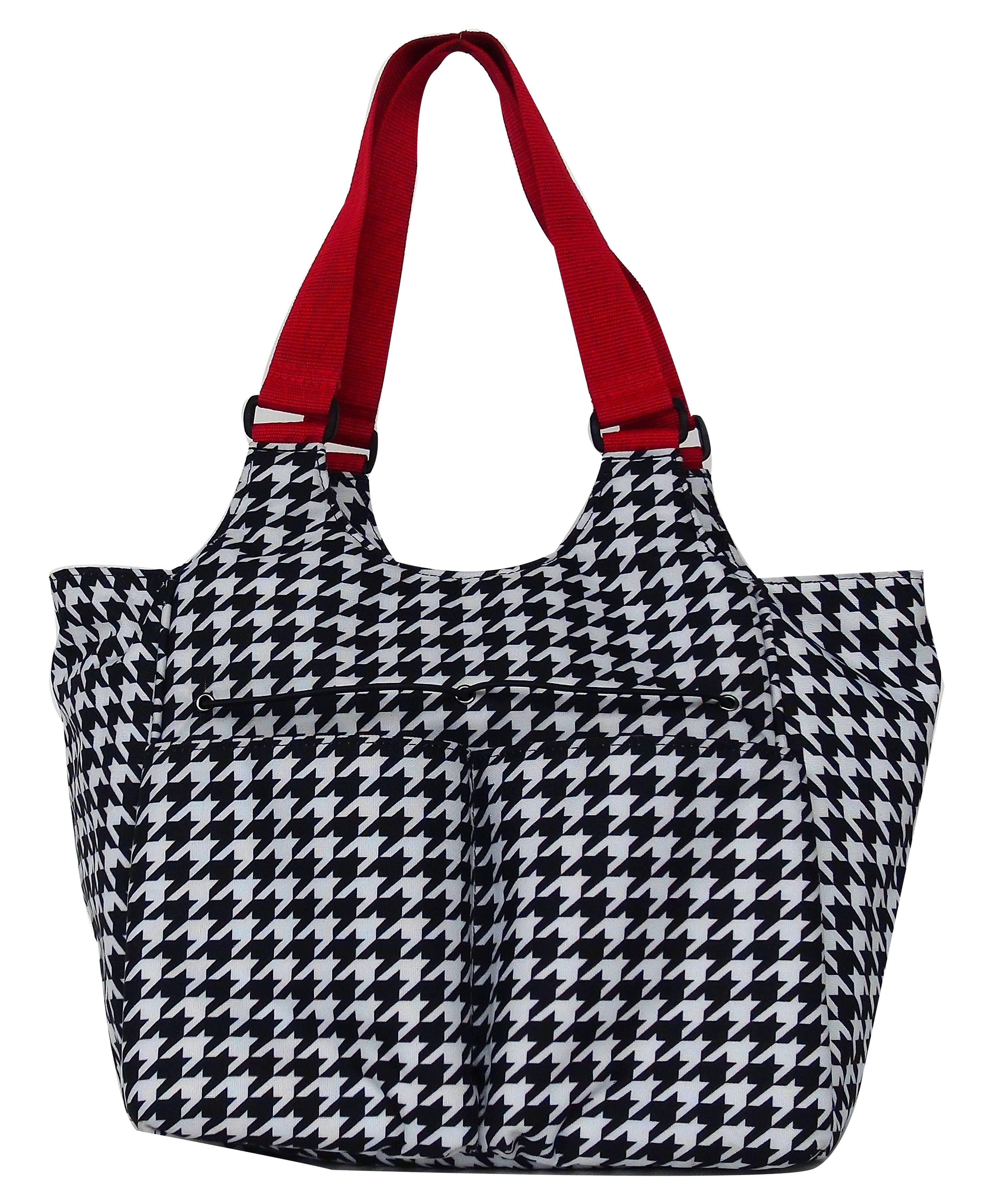 Lami-Cell Houndstooth Accessory Bag