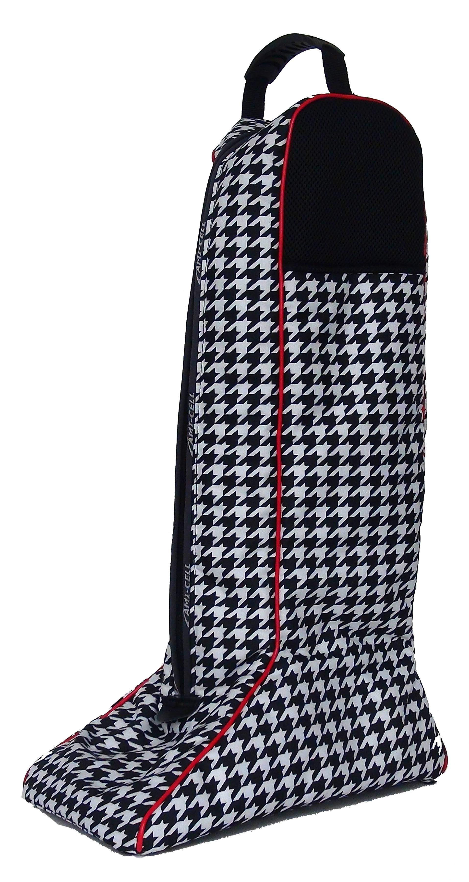 Lami-Cell Houndstooth English Boot Bag