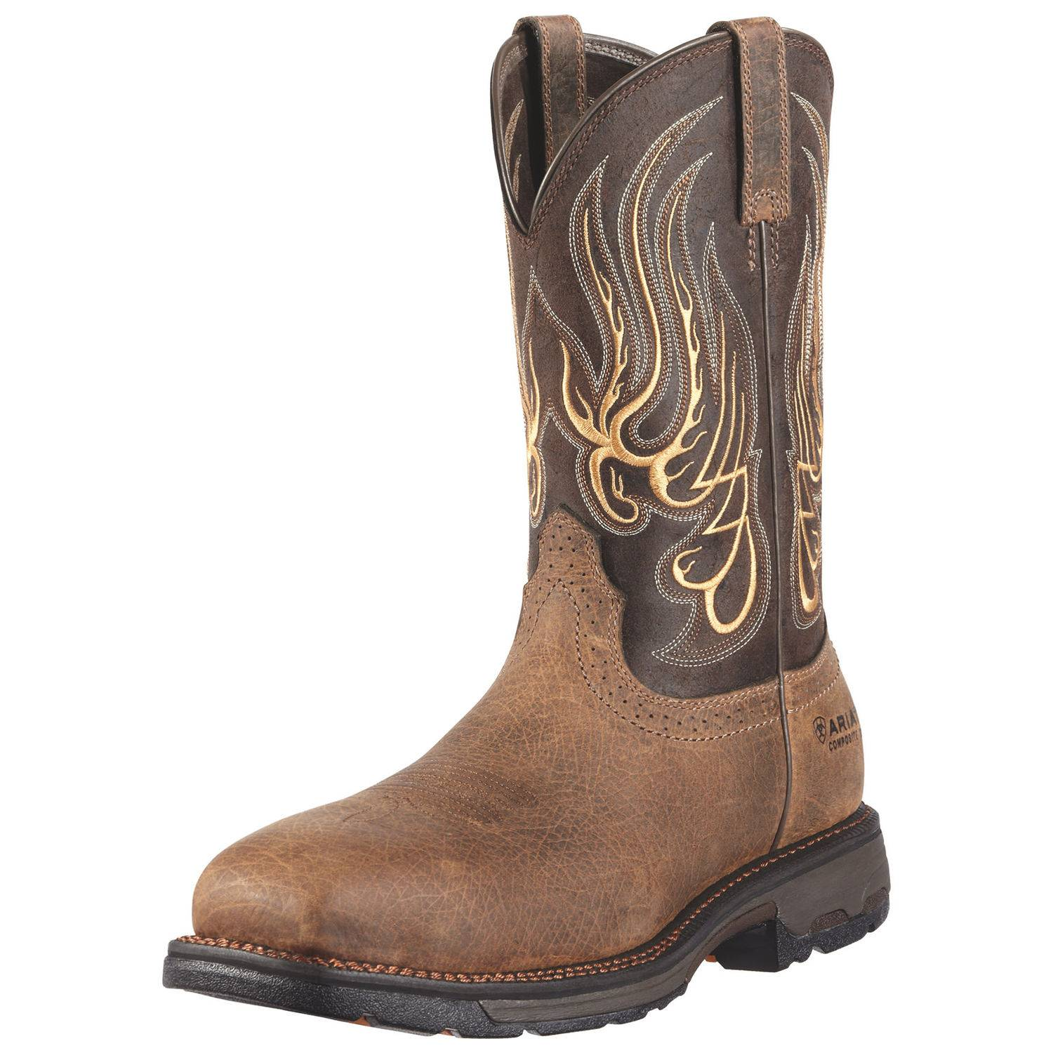 ARIAT Men's Workhog Square Toe Mesteno CT