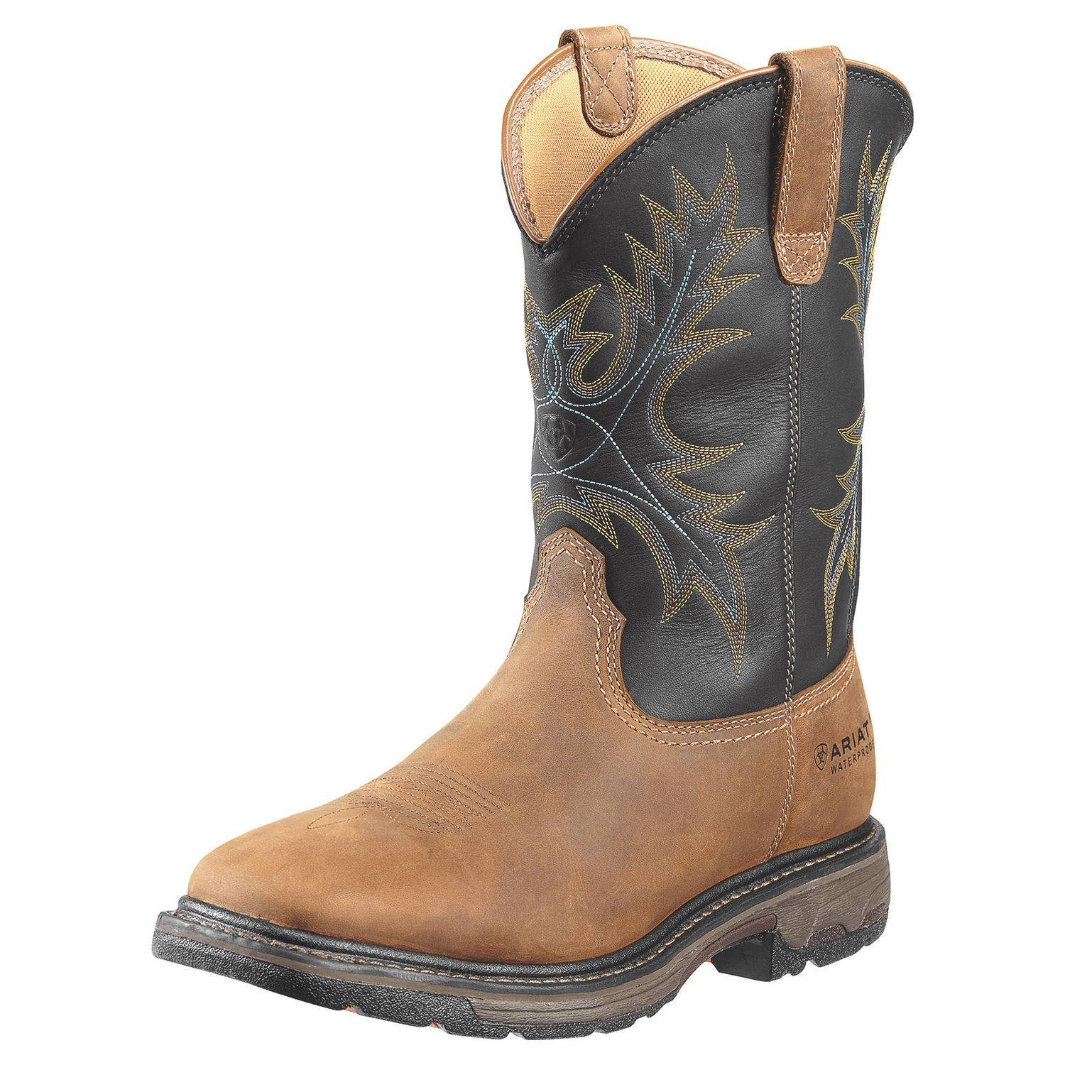 ARIAT Men's Workhog Square H2O Safety Toe Boot
