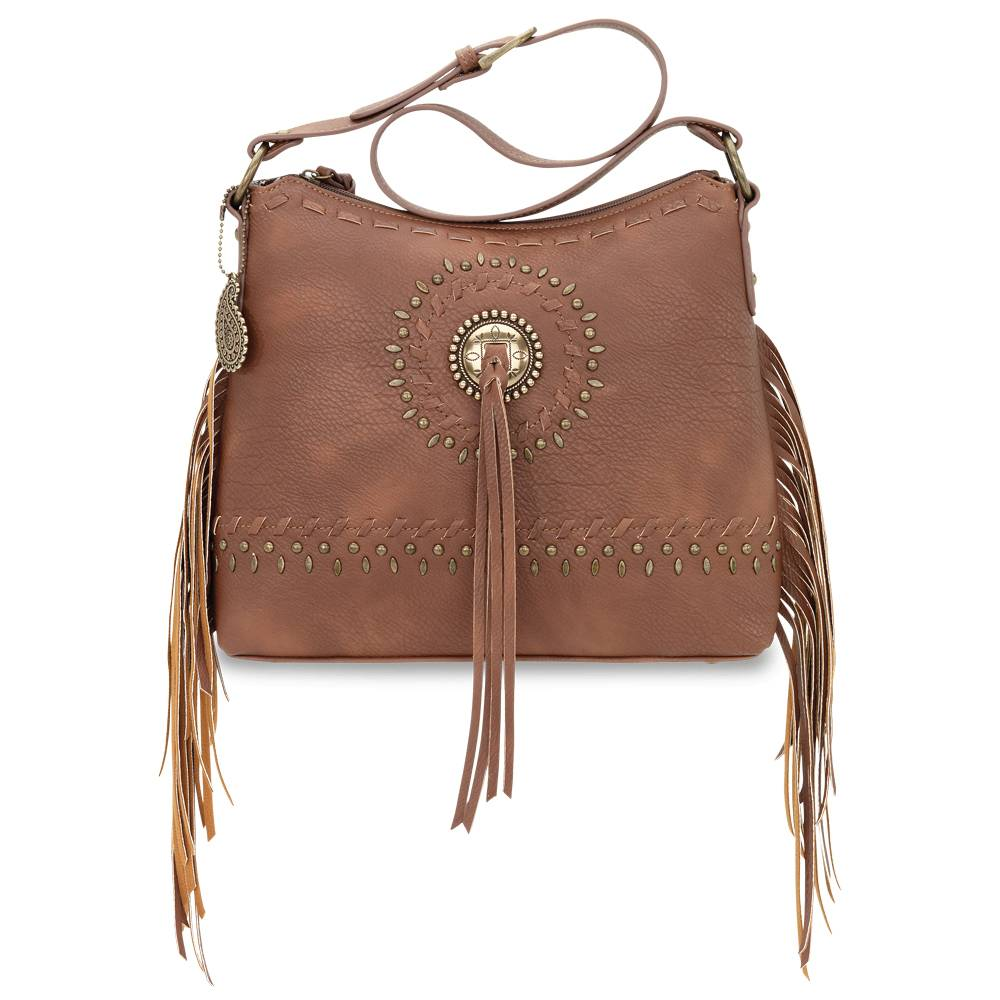 Bandana Sioux Zip Top Shoulder Bag