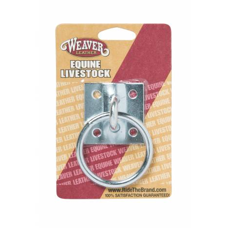 Weaver Leather Zinc Plated Tie Ring Plate