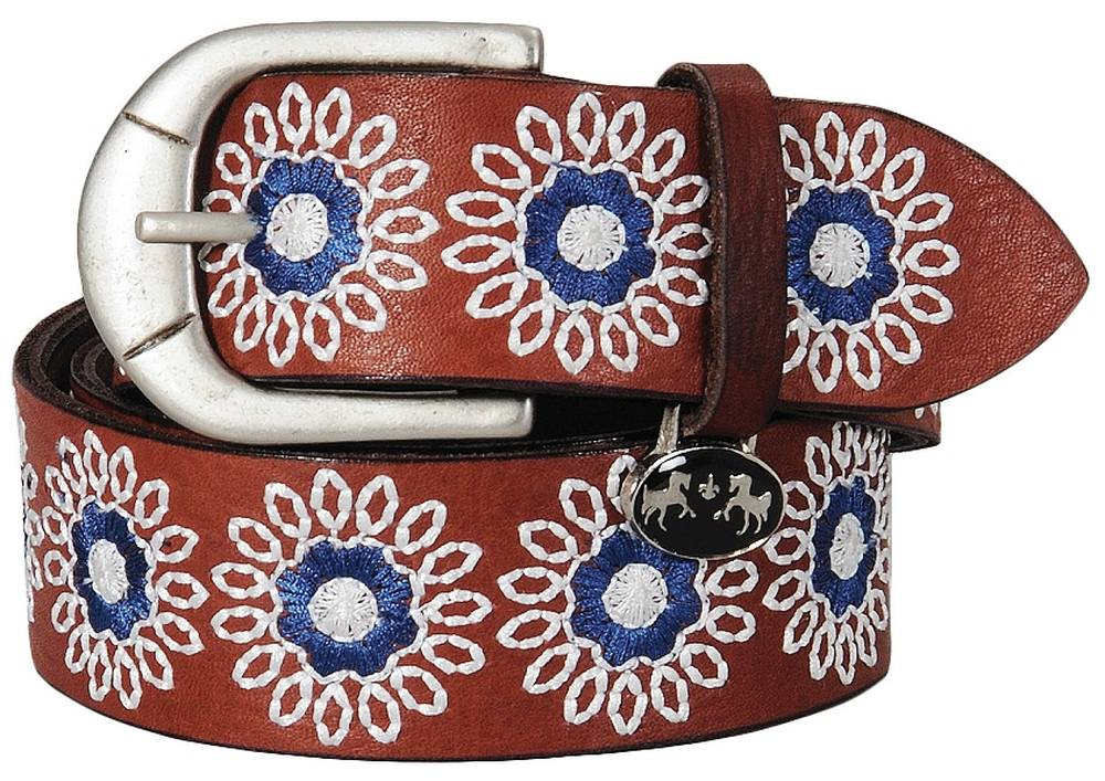 TuffRider Sophia Leather Belt