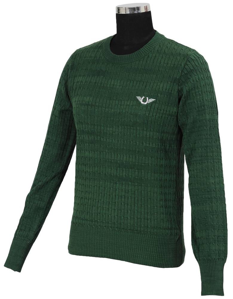 Tuffrider Ladies Classic Cable Knit Sweater