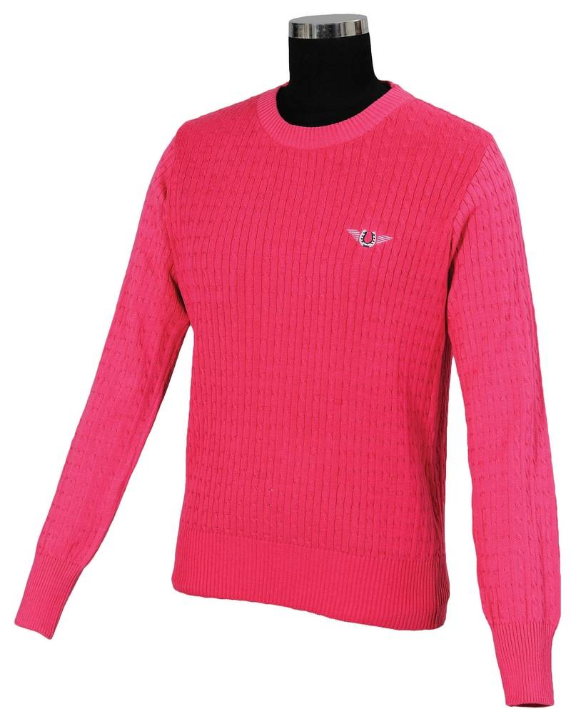 Tuffrider Ladies' Classic Cable Knit Sweater