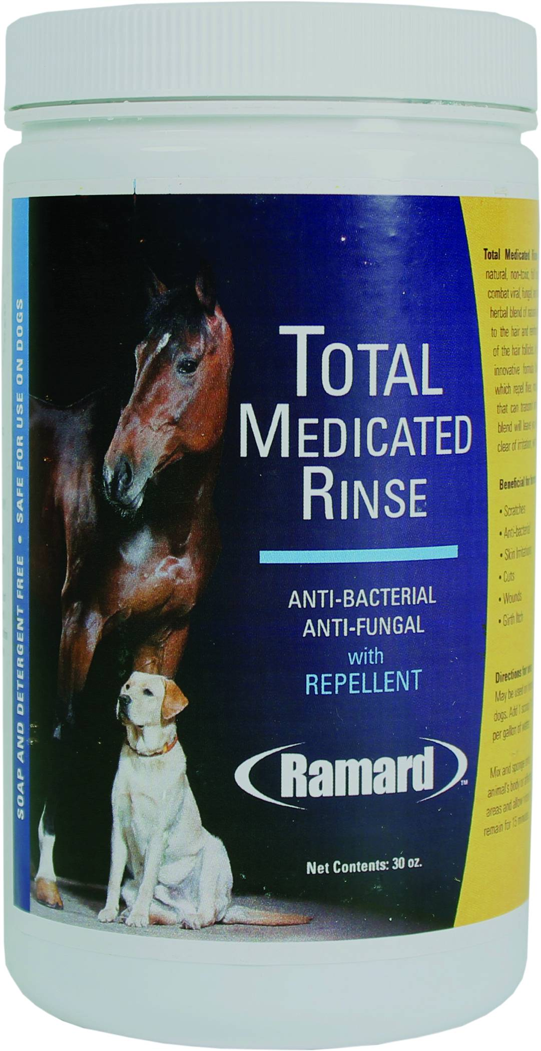 Total Medicated Rinse With Repellent