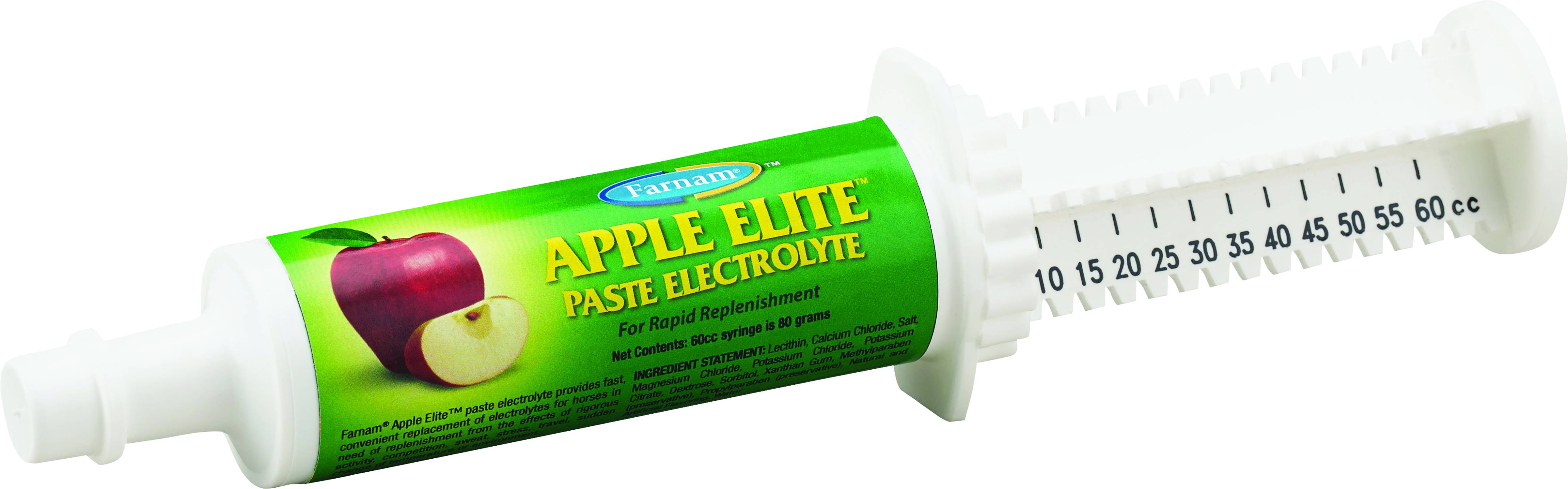 Apple Elite Electrolyte Paste For Horses